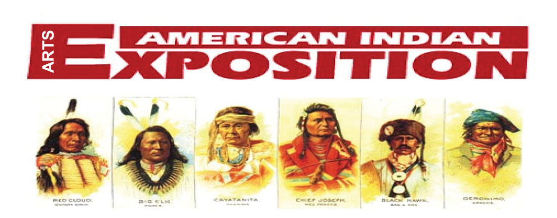 American Indian Arts Exposition - Red Cloud - Big Elk - Cayatanita - Chief Joseph - Black Hawk - Geronimo